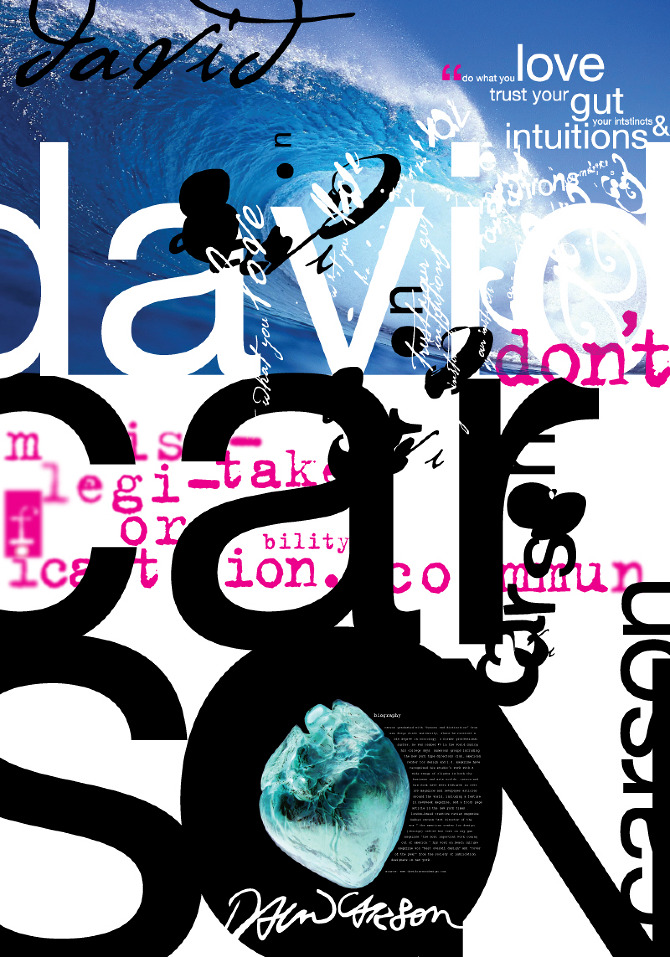 david carson typography - photo #14